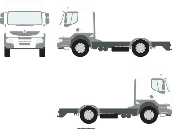RIGID TRUCKS RENAULT Premium 2008-13